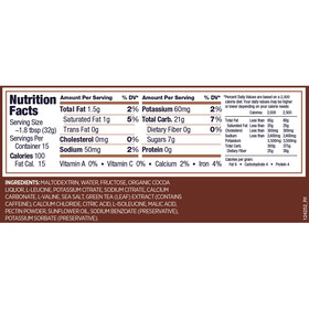GU Energy Paquete de Gel Bulk Pack 480g + Gel 3x32g + Frasco, Chocolate Outrage